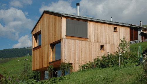 Energieeffizient Und Klimafreundlich Bauen Mit Holz